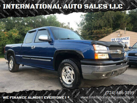 2003 Chevrolet Silverado 1500 for sale at INTERNATIONAL AUTO SALES LLC in Latrobe PA