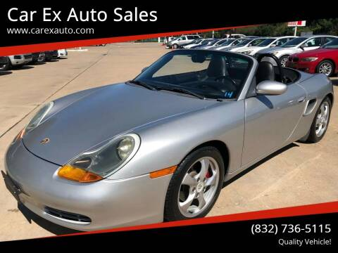 2001 Porsche Boxster for sale at Car Ex Auto Sales in Houston TX