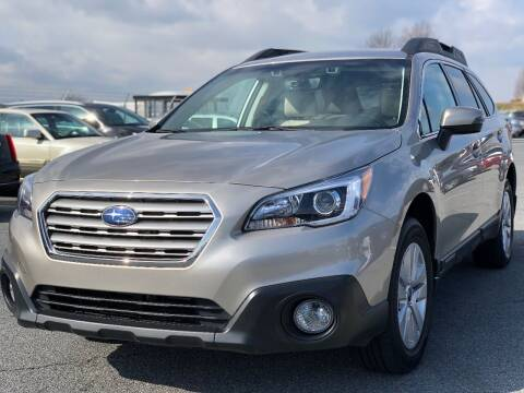 2017 Subaru Outback for sale at SILVER ARROW AUTO SALES CORPORATION in Newark NJ