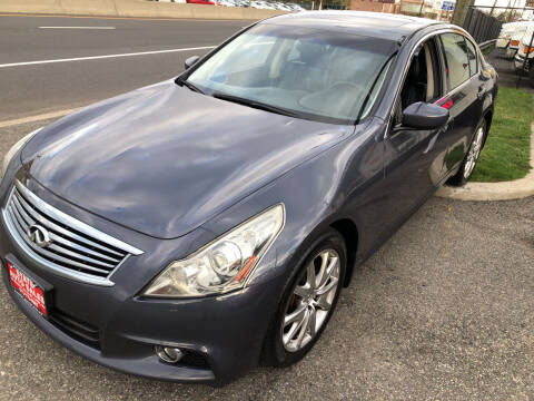 2012 Infiniti G37 Sedan for sale at STATE AUTO SALES in Lodi NJ