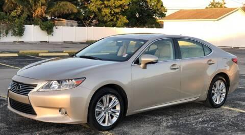 2014 Lexus ES 350 for sale at Guru Auto Sales in Miramar FL