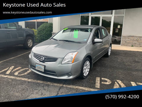 2012 Nissan Sentra for sale at Keystone Used Auto Sales in Brodheadsville PA