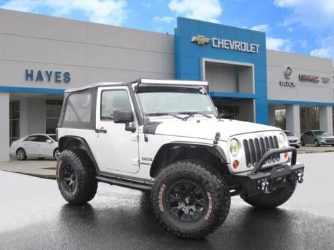 2012 Jeep Wrangler for sale at HAYES CHEVROLET Buick GMC Cadillac Inc in Alto GA