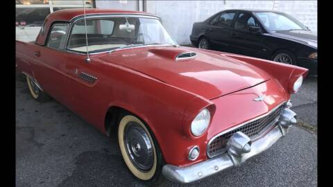 1956 Ford Thunderbird for sale at Black Tie Classics in Stratford NJ