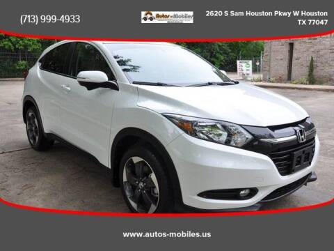 2018 Honda HR-V for sale at AUTOS-MOBILES in Houston TX
