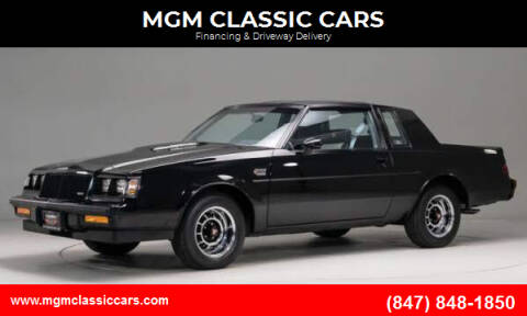 1987 Buick Grand National for sale at MGM CLASSIC CARS-New Arrivals in Addison IL