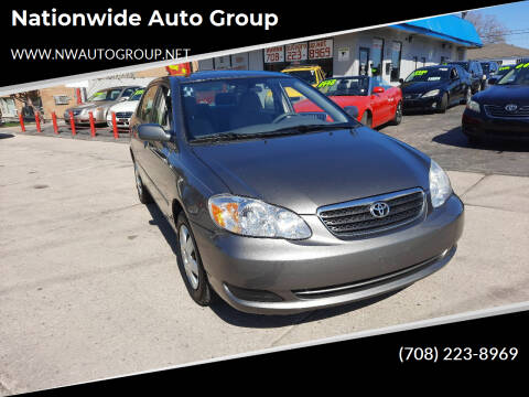 2008 Toyota Corolla for sale at Nationwide Auto Group in Melrose Park IL