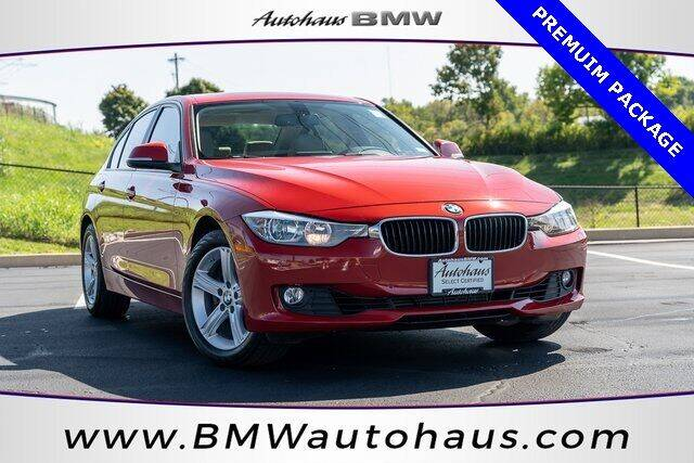 2015 BMW 3 Series for sale at Autohaus Group of St. Louis MO - 3015 South Hanley Road Lot in Saint Louis MO