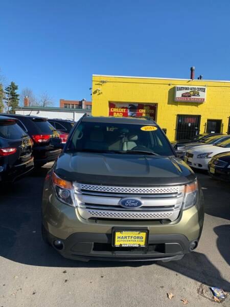2012 Ford Explorer for sale at Hartford Auto Center in Hartford CT