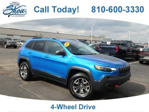 2019 Jeep Cherokee for sale at Erick's Used Car Factory in Flint MI