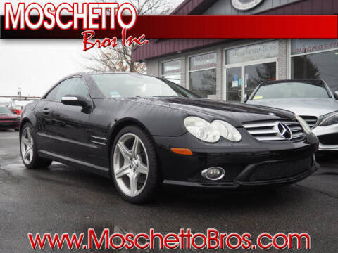 2007 Mercedes-Benz SL-Class for sale at Moschetto Bros. Inc in Methuen MA