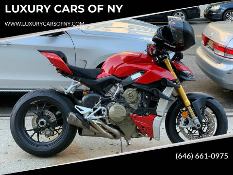 2021 Ducati Streetgihhter V4S  for sale at LUXURY CARS OF NY in Queens NY