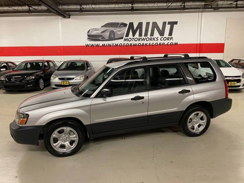 2005 Subaru Forester for sale at MINT MOTORWORKS in Addison IL