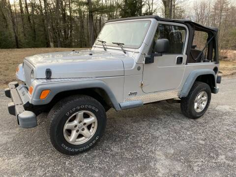 2004 Jeep Wrangler for sale at Amherst Street Auto in Manchester NH