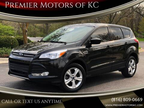 2015 Ford Escape for sale at Premier Motors of KC in Kansas City MO