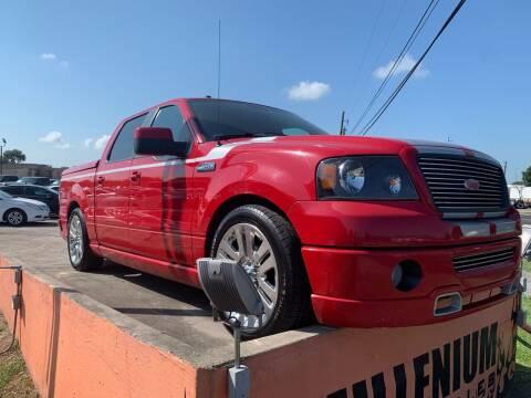 2008 Ford F-150 for sale at MILLENIUM MOTOR SALES, INC. in Rosenberg TX