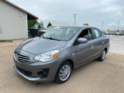 2017 Mitsubishi Mirage G4 for sale at Family Car Farm in Princeton IN