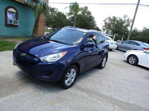 2011 Hyundai Tucson for sale at S & T Motors in Hernando FL