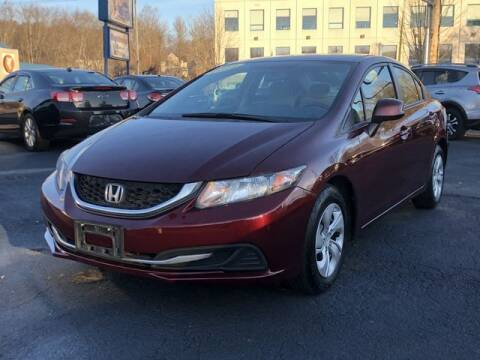 2013 Honda Civic for sale at All Star Auto  Cycle in Marlborough MA