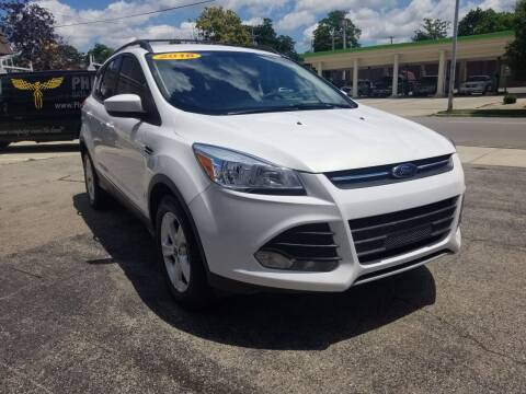 2016 Ford Escape for sale at BELLEFONTAINE MOTOR SALES in Bellefontaine OH