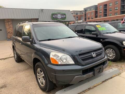 2005 Honda Pilot for sale at LOT 51 AUTO SALES in Madison WI