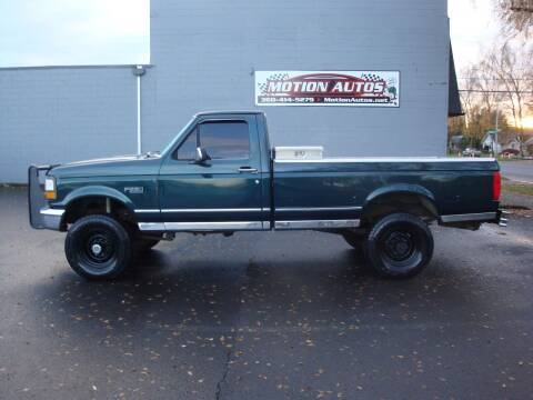 1993 Ford F-250 for sale at Motion Autos in Longview WA