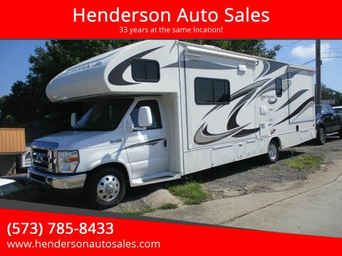 2013 Ford E-Series Chassis for sale at Henderson Auto Sales in Poplar Bluff MO