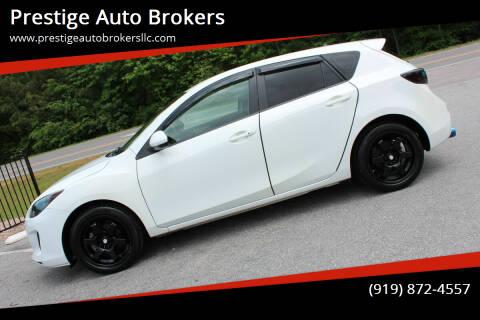 2013 Mazda MAZDA3 for sale at Prestige Auto Brokers in Raleigh NC