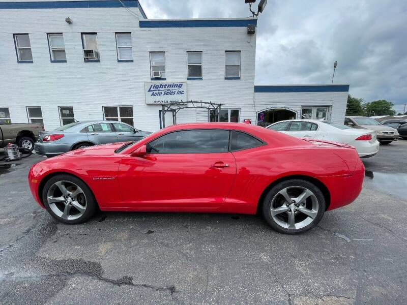 2013 Chevrolet Camaro for sale at Lightning Auto Sales in Springfield IL