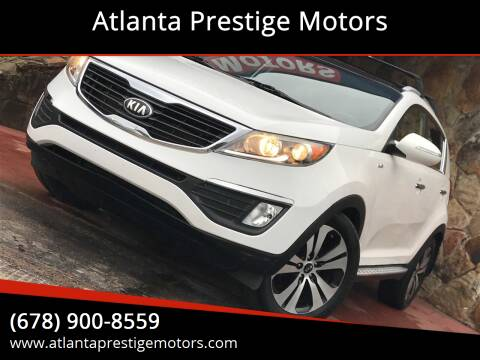 2013 Kia Sportage for sale at Atlanta Prestige Motors in Decatur GA
