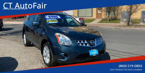 2012 Nissan Rogue for sale at CT AutoFair in West Hartford CT