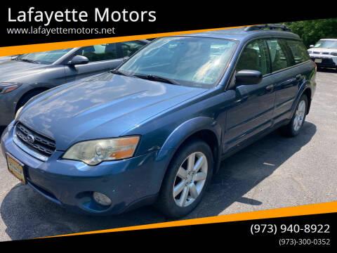 2006 Subaru Outback for sale at Lafayette Motors in Lafayette NJ
