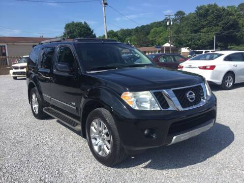 2008 Nissan Pathfinder for sale at Wholesale Auto Inc in Athens TN
