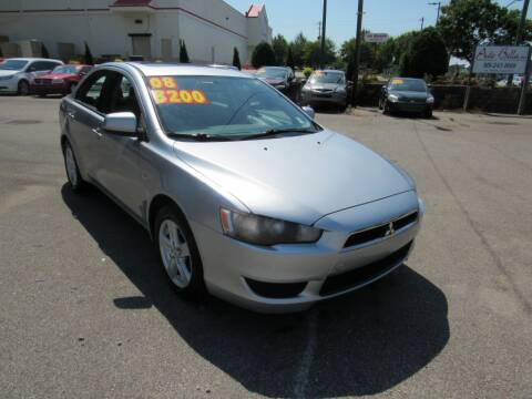 2008 Mitsubishi Lancer for sale at Auto Bella Inc. in Clayton NC