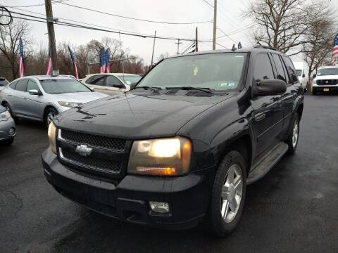 2008 Chevrolet TrailBlazer for sale at P J McCafferty Inc in Langhorne PA