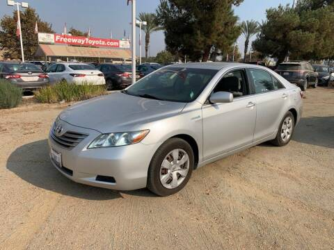 2008 Toyota Camry Hybrid for sale at CENTURY MOTORS in Fresno CA