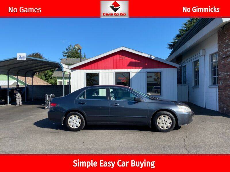 2003 Honda Accord for sale at Cars To Go in Portland OR