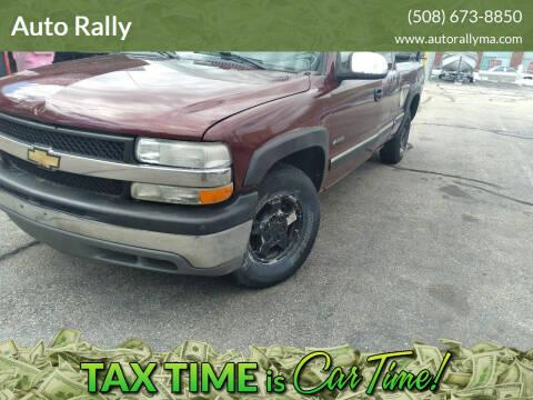 2001 Chevrolet Silverado 1500 for sale at Auto Rally in Fall River MA