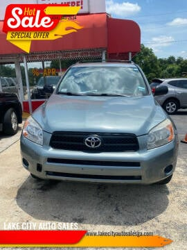 2008 Toyota RAV4 for sale at LAKE CITY AUTO SALES in Forest Park GA