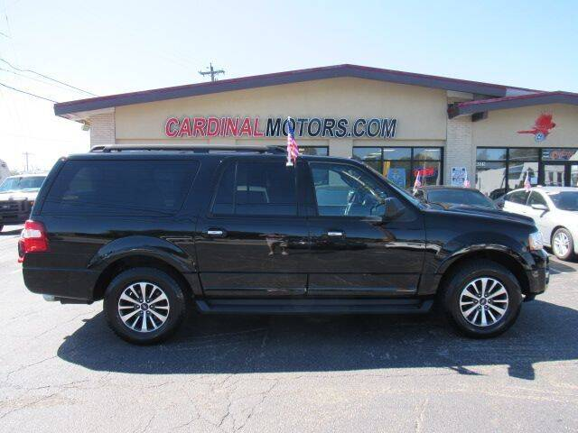 2016 Ford Expedition EL for sale at Cardinal Motors in Fairfield OH