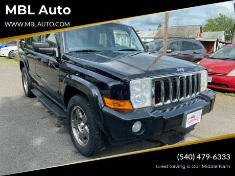 2007 Jeep Commander for sale at MBL Auto Woodford in Woodford VA