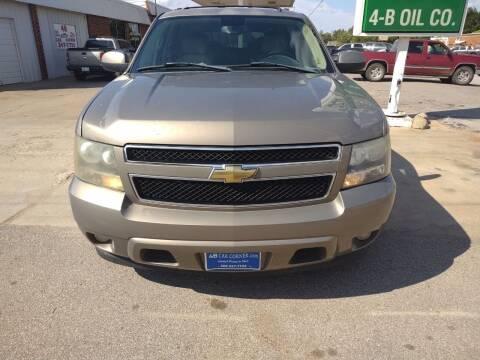 2007 Chevrolet Tahoe for sale at 4 B CAR CORNER in Anadarko OK