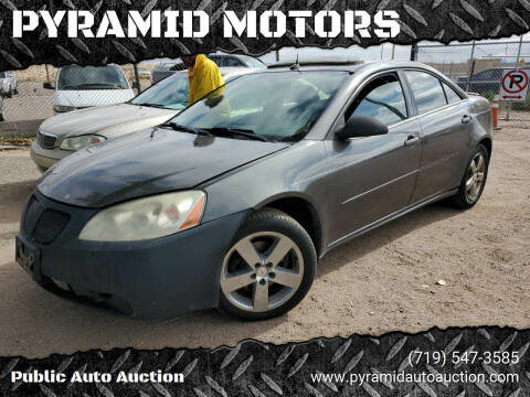 2005 Pontiac G6 for sale at PYRAMID MOTORS - Pueblo Lot in Pueblo CO