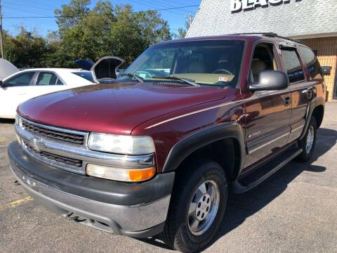 2000 Chevrolet Tahoe for sale at Beach Auto Sales in Virginia Beach VA