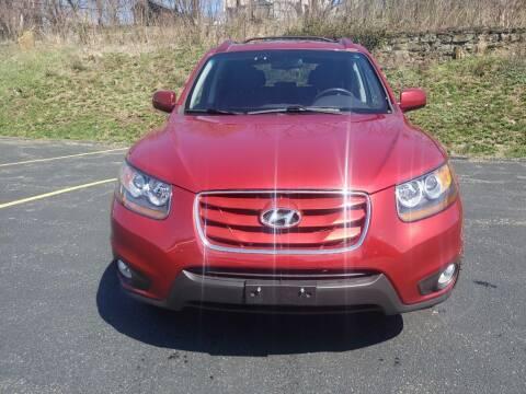 2010 Hyundai Santa Fe for sale at KANE AUTO SALES in Greensburg PA