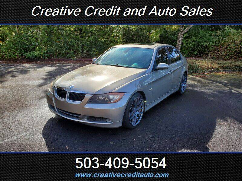 2008 BMW 3 Series for sale at Creative Credit & Auto Sales in Salem OR