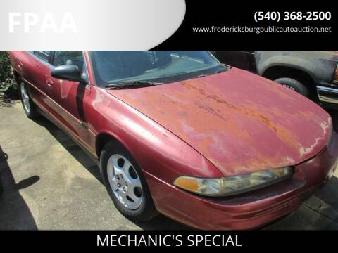 1999 Oldsmobile Intrigue for sale at FPAA in Fredericksburg VA