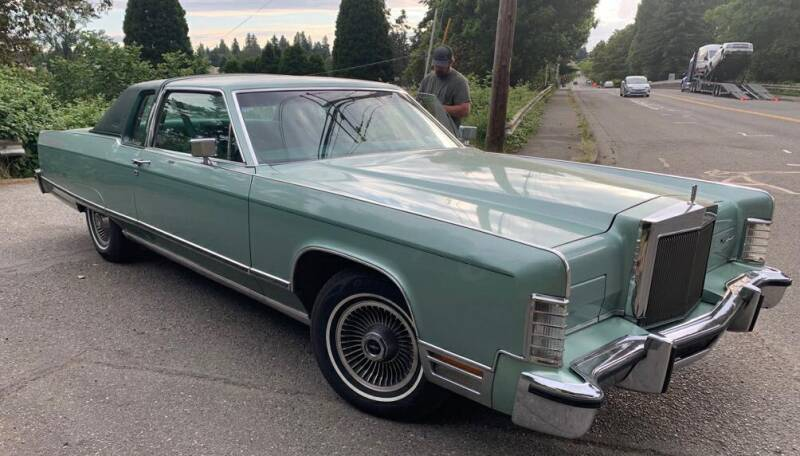 1977 Lincoln Continental for sale at Cobalt Cars in Atlanta GA