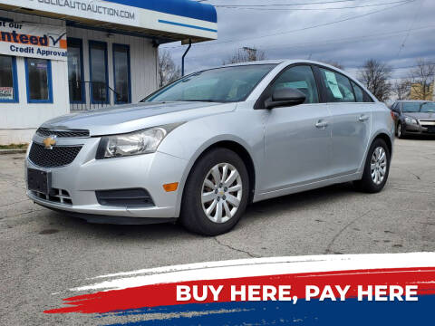 2011 Chevrolet Cruze for sale at E.L. Davis Enterprises LLC in Youngstown OH