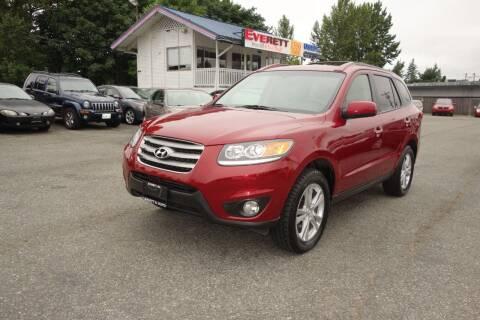 2012 Hyundai Santa Fe for sale at Leavitt Auto Sales and Used Car City in Everett WA